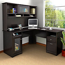 Cabot L-Desk with Hutch , 8804876