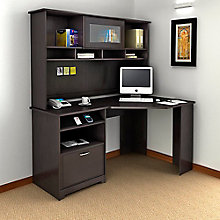 Cabot Corner Desk with Hutch , 8804871