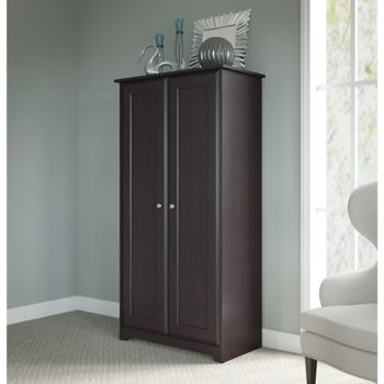 Cabot Two Door Tall Storage Cabinet, Tall Storage Cabinets With Doors