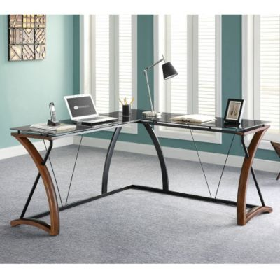 Glass Desks Modern Home Office Furniture OfficeFurniturecom