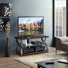 Calico Three Shelf Curved Leg TV Console, 8802454