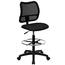 Black drafting stool, 8812589