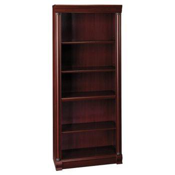 Birmingham Five Shelf Open Bookcase By Bush Officefurniturecom