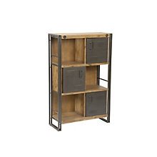 Brooklyn Shelf With Doors Larg, 8809540