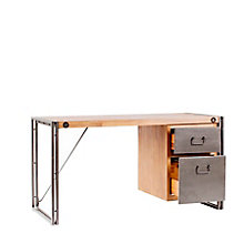 "Brooklyn Single Pedestal Desk - 55""W, 8804867"