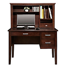"Koncept Writing Desk with Hutch - 42""W, 8804707"