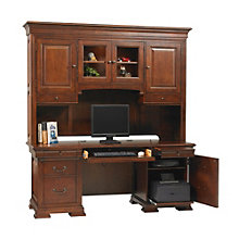 "Classic Cherry Credenza and Hutch- 72""W, 8804691"