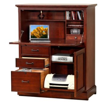 Computer Armoires Laptop Cabinet Desks Wdoors Officefurniture