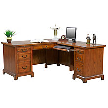 "Zahara L-Desk with Right Return - 66""W, 8803370"