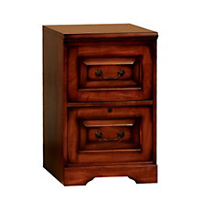 "Country Cherry Two Drawer Vertical File - 18.5""W, 8803378"