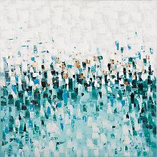 Blue Gradient Wall Décor, 8809566