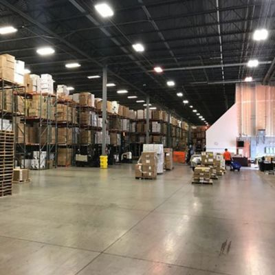 Warehouse Expansions for Our Ships Today Program