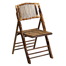 Black, Brown folding chair, 8812606