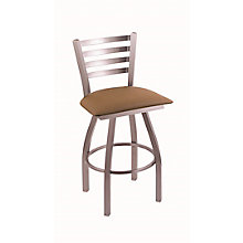 """Jackie Fabric or Vinyl Big & Tall Stool with Steel Frame - 36""""H Swivel Seat, 8814387"""