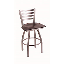 """Jackie Faux Leather Big & Tall Stool with Steel Frame - 25""""H Swivel Seat, 8814380"""