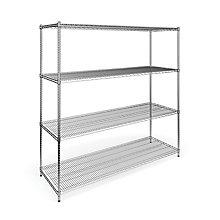 """4 Shelf Rack 24"""" x 72"""" , 8812934"""