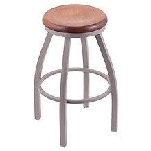 """Misha Wood or Vinyl Stool - 36""""H Swivel Seat, 8814373"""