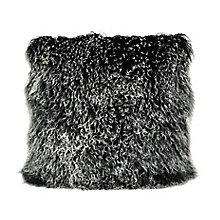 Lamb Fur Pillow Large Black Sn, 8809613