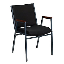 Green Fabric metal stack chair, 8812634