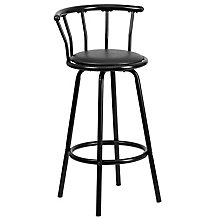 Black contemporary barstool, 8812677