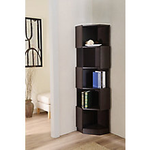 Contemporary Corner Bookcase, 8820083