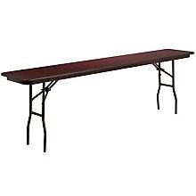 18 x 96 Walnut Folding Table, 8812687