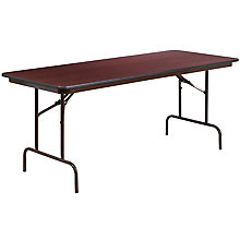 30 x 72 Walnut Folding Table, 8812691