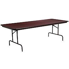 36 x 96 Walnut Folding Table, 8812695