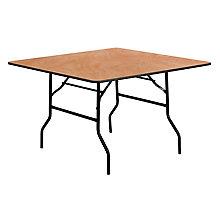 Natural Wood folding table, 8812696