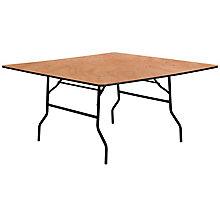 Natural Wood folding table, 8812697