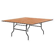 Natural Wood folding table, 8812698