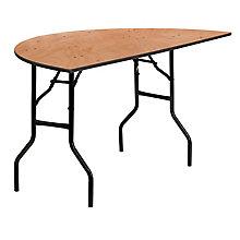 Natural Wood folding table, 8812700