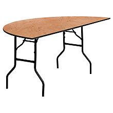 Natural Wood folding table, 8812701
