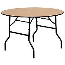 Natural Wood folding table, 8812702