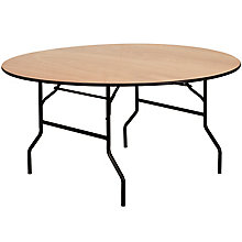 Natural Wood folding table, 8812703