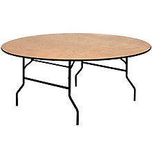 Natural Wood folding table, 8812704