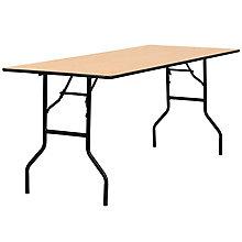 Natural Wood folding table, 8812712