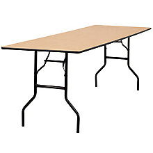 Natural Wood folding table, 8812713