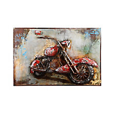 Motorcycle Mania Wall Décor, 8809636