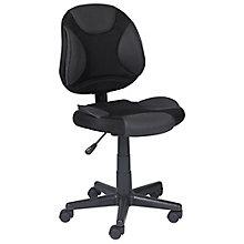 Locust Fabric Mesh Two-Tone Armless Task Chair, 8814127