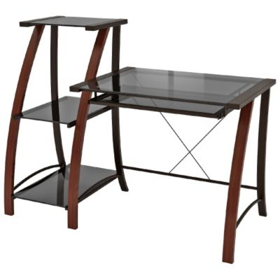 Glass Desks Modern Home Office Furniture OfficeFurniturecom