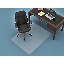"""3'10""""W x 5'D Rectangular Chair mat, 8814892"""