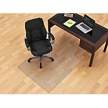 """3'9""""W x 4'5""""D Hard floor Chair mat, 8814891"""