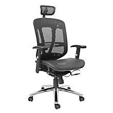 Zerus Ergonomic Mesh Executive Chair With Headrest, 8823832