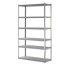 "Boltless Six Shelf Steel Shelving 86"" H, 8820435"