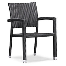 Boarcay Stackable Outdoor Arm Chair, ZUO-701021