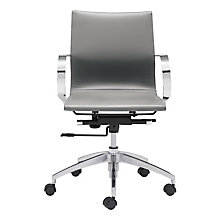 Glider Low Back Office Chair, 8828717
