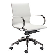 Faux Leather Office Chair, 8828727