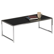 Black Glass Coffee Table, AVN-400013