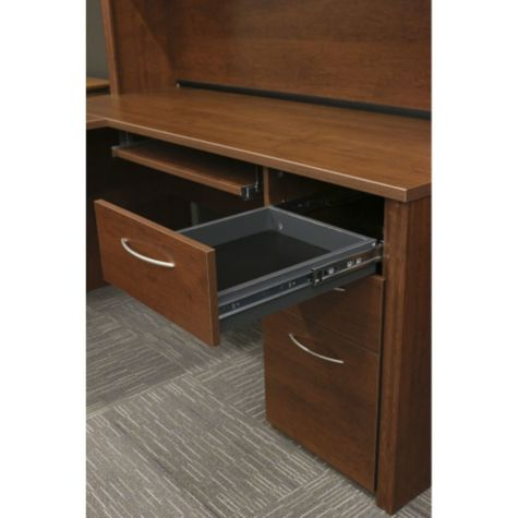 Top Box Drawer Shown Open (hutch not included)